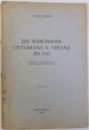 LES MARCHANDS  OTTOMANS A VIENNE EN 1767 par VASILJ POPOVIC , 1940