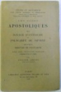 LES PERES APOSTOLIQUES  VOL. III  - IGNACE D ' ANTIOCHE et POLYCARPE DE SMYRNE , epitres MARTYRE DE POLYCARPE par AUGUSTE LELONG ,  EDITIE BILINGVA FRANCEZA   - LATINA , 1910