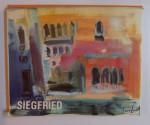 LES SOUVENIRS DE VENISE de W. SIEGFRIED par IONEL JIANOU , 1984