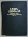 LIMBA GERMANA, MANUAL DE LIMBA SI CORESPONDENTA COMERCIALA ANII III-IV , 1971