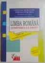 LIMBA ROMANA , ADMITEREA LA DREPT 1200 DE INTREBARI SI RASPUNSURI de CRISTIAN MOROIANU , ADRIAN STOICESCU , 2013