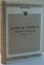 LUCRARI DE CONSTRUCTII, PRESCRIPTII DE PROIECTARE, VOL II , 1965