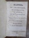 Manuel du Chamoiseur, du maroquinier, du megessier et du parcheminier, Paris 1826