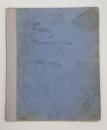 MANUSCRIS , CAIET DE VERSURI DE CORNELIU RUSU, CLUJ, 1945