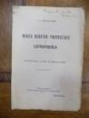 Marea noastra proprietate si exproprierea, I. C. Argetoianu Bucuresti 1913 cu dedicatia autorului