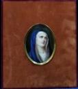 MARIA MAGDALENA - PORTELAN PICTAT,SECOLUL AL XIX LEA.