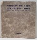 MARQUIS DE SADE, LES AMIS DU CRIME - PARIS 1790