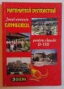 MATEMATICA DISTRACTIVA - JOCUL CONCURS GANGURUL - PENTRU CLASELE II - VIII, 2004