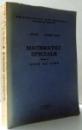 MATEMATICI SPECIALE  PARTEA I - A , NOTE DE CURS de L. LIVOVSCHI si GEORGETA MIHNEA , 1982