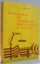 MATERIALE DE CONSTRUCTII , INSTALATII SI UTILAJ de IGOR IVANOV , 1975