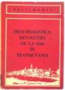MEMORIALISTICA REVOLUTIEI DE LA 1848 IN TRANSILVANIA, 1988