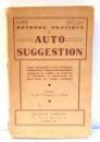 METHODE PRATIQUE D`AUTO SUGGESTION par PAUL-C. JAGOT , 1939