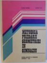 METODICA PREDARII GEOMETRIEI IN GIMNAZIU de OLIMPIA POPESCU si VALERIA RADU , 1983
