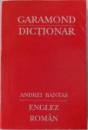 MIC DICTIONAR ENGLEZ - ROMAN de ANDREI BANTAS , 1992
