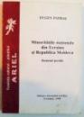MINORITATILE NATIONALE DIN UCRAINA SI REPUBLICA MOLDOVA , STATUTUL JURIDIC de EUGEN PATRA , 1998