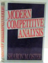 MODERN COMPETITIVE ANALYSIS by SHARON M. OSTER , 1990