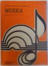 MUZICA  - MANUAL PENTRU CLASA A VII - A de CONSTANTIN POPESCU , 1986