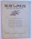 MUZICA SI POEZIE - REVISTA FILARMONICEI - ANUL I , 1936 - IUNIE ,   NO. 8