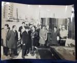 Nicolae Ceausescu in vizita de lucru la Santierul de Locuinte Titan - Fotografie