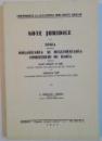 NOTE JURIDICE LA LEGEA PENTRU ORGANIZAREA SI REGLEMENTAREA COMERTULUI DE BANCA de I.POPESCU-ALBOTA, 1942
