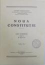 NOUA CONSTITUTIE  - CINCI CONFERINTE TINUTE LA RADIO de ANDREI RADULESCU , EDITIA A - II -A , 1939