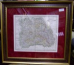 NOUA HARTA A TRANSILVANIEI , 1843