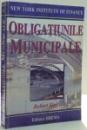 OBLIGATIUNILE MUNICIPALE de ROBERT ZIPF , 2001