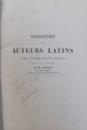 OEUVRES COMPLETES DE LUCRECE , VIRGILE , VALERIUS FLACCUS   - AVEC LA TRADUCTION EN FRANCAIS par M. NISARD , 1864