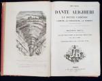 OPERE DE DANTE ALIGHIERI, LA DIVINA COMEDIE TRADUSA DE SEBASTIEN RHEAL - PARIS 1854