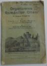 ORGANIZAREA ROMANILOR OLTENI IN ORASUL FAGARAS DIN TARA LUI RADU NEGRU , 1925 , DEDICATIE*