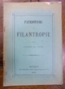 PATRIOTISMU ȘI FILANTROPIE de LOCOTENENT GH. I. BERTEA (1894)