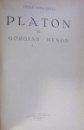PLATON - OPERE (TRADUCERE DE CEZAR PAPACOSTEA) (1930-1935)