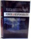 POWER & RESPONSIBILITY by BRUCE JONES...JOHN STEDMAN , 2009
