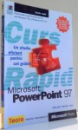 POWERPOINT 97 , CURS RAPID , 1999