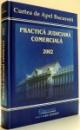 PRACTICA JUDICIARA COMERCIALA de JUDECATOR DR. DAN LUPASCU , 2002