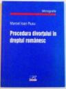 PROCEDURA DIVORTULUI IN DREPTUL ROMANESC , 2003