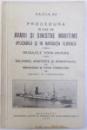 PROCEDURA IN CAZ DE AVARII SI SINISTRE MARITIME APLICABILA SI IN NAVIGATIA FLUVIALA  - REGULELE YORK - ANVERS / SALVAREA , ASISTENTA SI REMORCAJUL de CONST. C .  TONEGARU , 1933