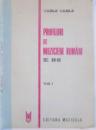 PROFILURI DE MUZICIENI ROMANI , SEC. XIX-XX de VASILE VASILE , VOL I , 1986