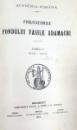 PUBLICAȚIUNILE FONDULUI VASILE ADAMACHI, TOMUL IV 1906-1910