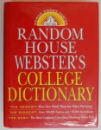 RANDOM HOUSE WEBSTER'S , COLLEGE DICTIONARY , 1997