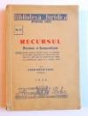 RECURSUL - DOCTRINA SI JURISPRUDENTA de CONSTANTIN VICOL , 1946