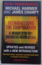REENGINEERING THE CORPORATION , A MANIFESTO FOR BUSINESS REVOLUTION by MICHAEL HAMMER & JAMES CHAMPY , 2001