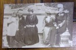 REGELE CAROL I , REGINA ELISABETA , PRINCIPESA MARIA SI FIICELE ACESTEIA , ILEANA SI MARIOARA - CARTE POSTALA FOTO