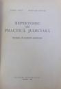 REPERTORIU DE PRACTICA JUDICIARA  -REZUMATE ALE HOTARIRILOR JUDECATORESTI  de CAMIL GALL si NICULAE HOGAS , 1963
