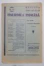 REVISTA SOCIETATII TINERIMEA ROMANA , ANUL XLVII NR. 1-2 , 1930