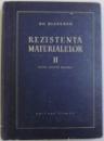 REZISTENTA MATERIALELOR VOL. II  PENTRU INGINERI MECANICI de GH. BUZDUGAN , 1967