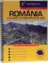 ROMANIA +41 DE HARTI ALE RESEDINTELOR DE JUDET , 2011