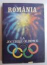 ROMANIA LA JOCURILE OLIMPICE de MARIA BUCUR - IONESCU ...ANGHEL VRABIE , 1986