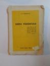 SAREA PAMANTULUI de V. BARNOSCHI