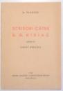 SCRISORI CATRE D.G. KIRIAC de A. VLAHUTA , 1935